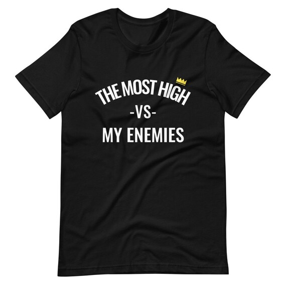 Hebrew Israelite Clothing - The Most High Tee's