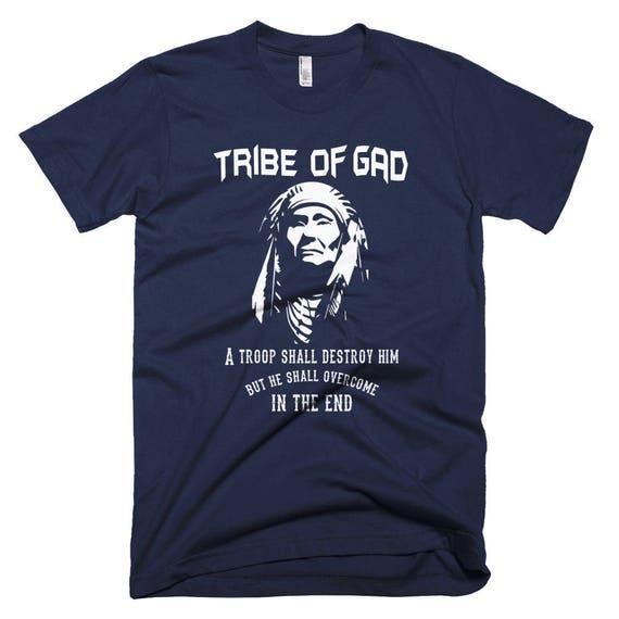 Hebrew Israelite Clothing - Tribe of Gad Short-Sleeve T-Shirt