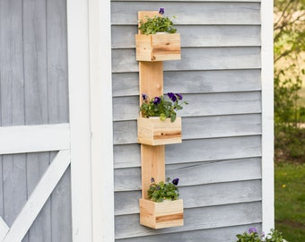 Herb Wall Planter Etsy