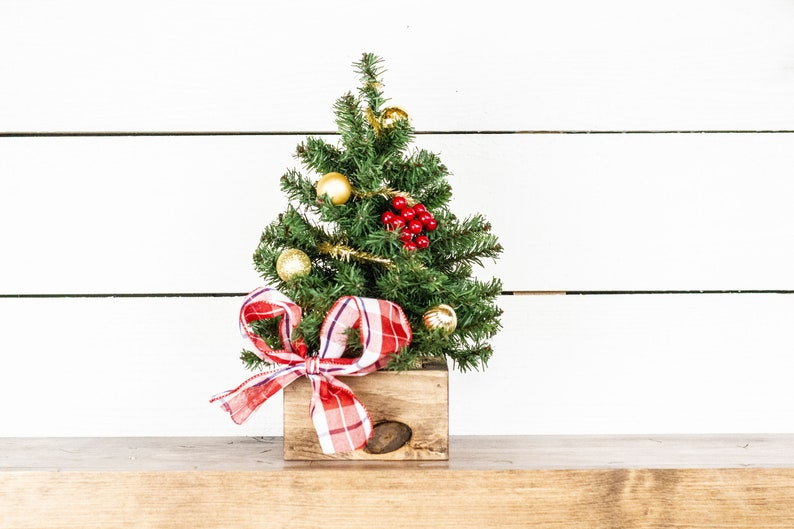 Small Tabletop Christmas Artificial Tree