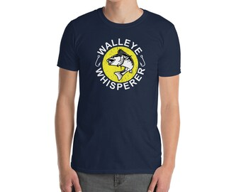 Walleye T Shirt Etsy