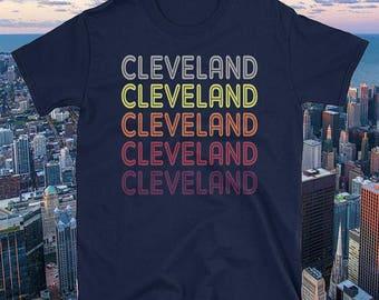 Cleveland Souvenir Shirt  / Retro Cleveland Shirt /  Women's Cleveland, OH Shirt / Cleveland T Shirt for Men / Cleveland Tee / Ohio