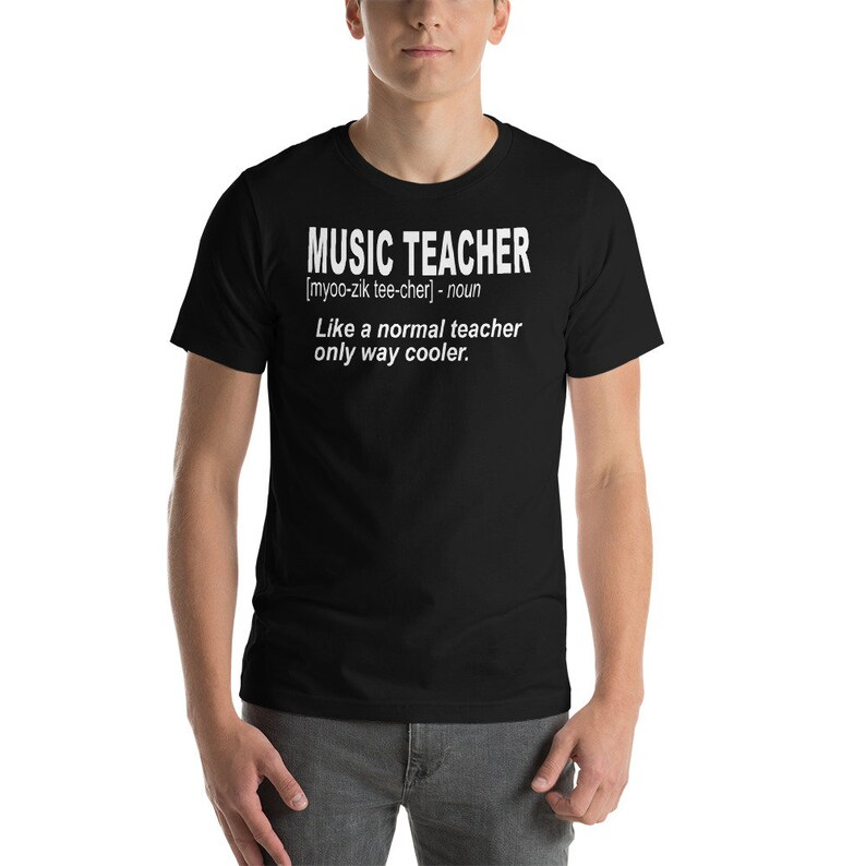2d819d6a Music Teacher Gift / Shirts for Teachers / Music Teacher | Etsy
