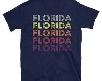 Florida Souvenir Shirt / Retro Florida Shirt / Florida T-Shirt for Women / Florida T Shirt for Men / State of Florida Tee / Ladies Florida T