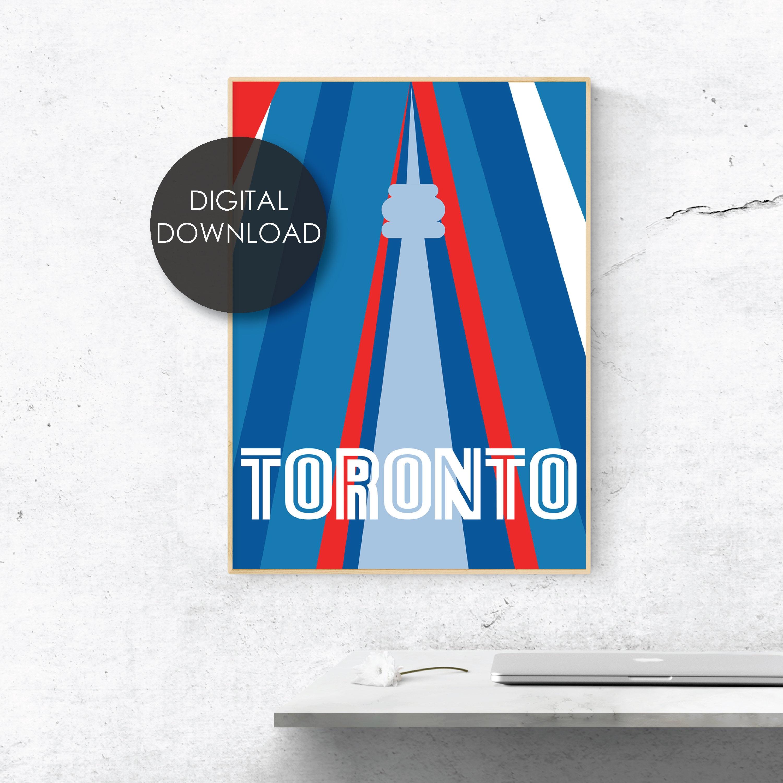 CN Tower #1 Custom Italian Charm Toronto Blue Jays