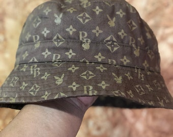 a9a2c40ff Playboy hat   Etsy