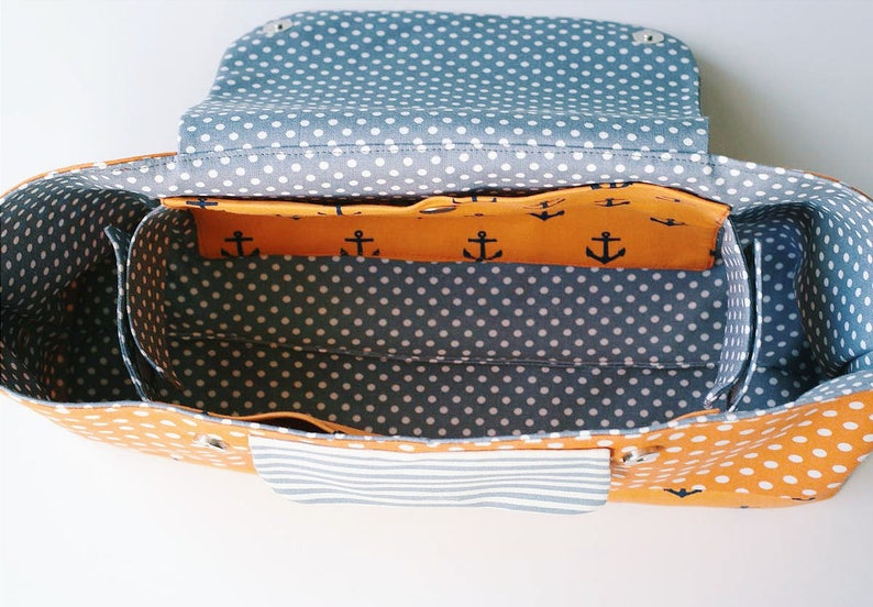 Stroller Organiser pdf sewing pattern Pram Caddy Pram Organiser tutorial  Stroller Caddy sewing Stroller Bag Stroller bag sewing pattern