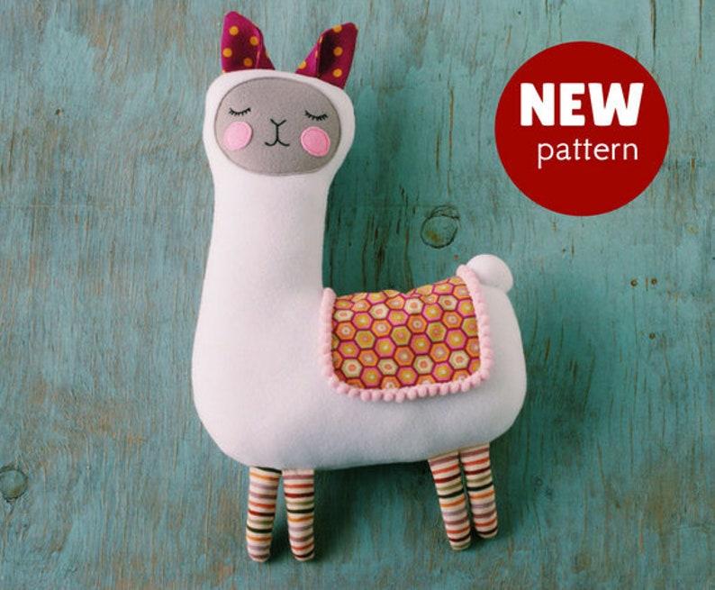 7c884c8c88cb Llama sewing pattern PDF Llama mama tutorial LLama stuffed for