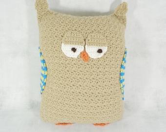 owl home decor - owl pillow - owl cushion - owl gift - throw pillow - animal pillow - decorative pillow - woodland pillow - owl lover - owl