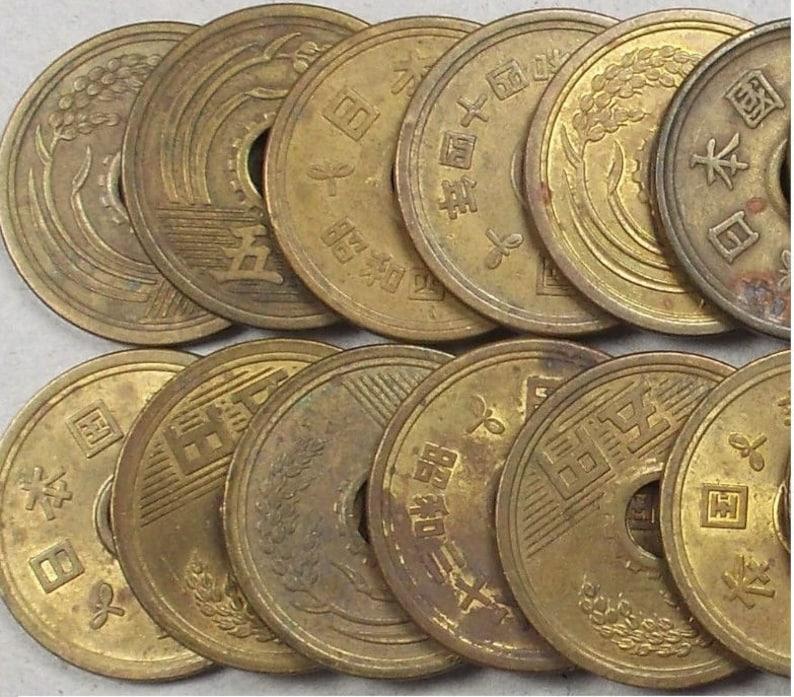 Japanische Münzen