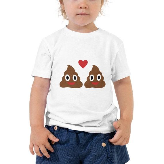 Illinois Emoji Toddler Short Sleeve Tee T-Shirt