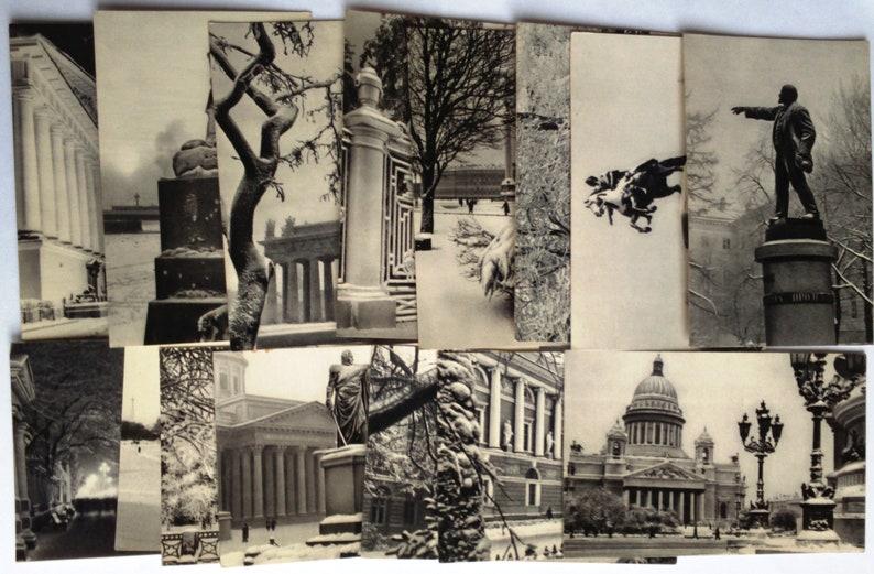 Vintage postcards photo Leningrad , Black and white photography art ,  Soviet collectible postcards, Leningrad photos, Vintage ussr