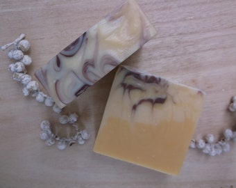 Patchouli & Ginger luxury essential oil soap 105g+