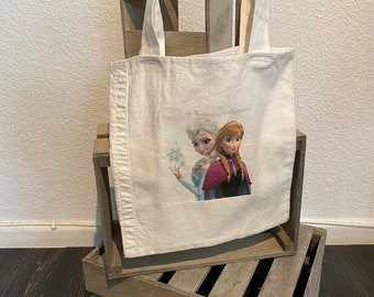 Pocket Frozen from recycled pants / Anna and Elsa / The Ice Queen