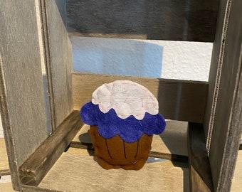 Cute Mini Felt Food Muffin Homemade