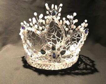 Ice Queen crystal tiara/crown