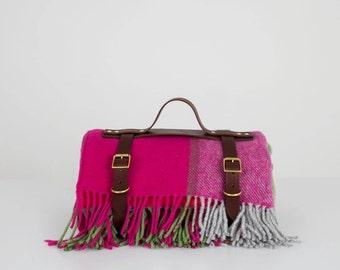 Pink/Green Picnic Blanket