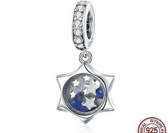 c972e87a3 Luminous Moon Clear Cubic Zircon fit fit original Women Bracelet 100% 925  Sterling Silver fit for Authentic pandora and european bracelets