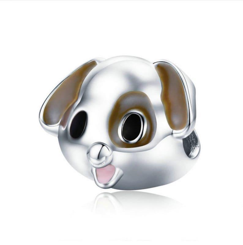 02c640bd7cc Puppy Pet Dog Doggy Animal Charm Beads Bracelet Bangles 100%   Etsy