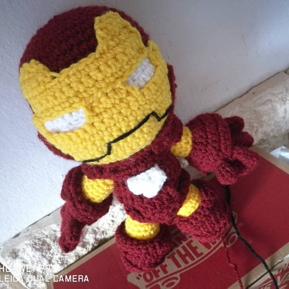 Marvel collection amigurumi Crochet Doll pattern created by ... | 570x570