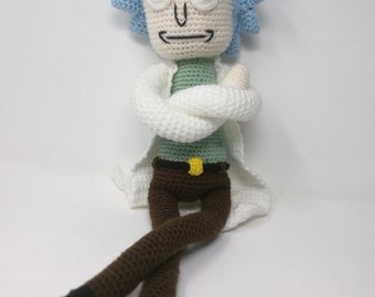 Rick inspired by Rick and Morty / rick and morty / amigurumi doll / rick sanchez / amigurumi rick sanchez / amigurumi rick