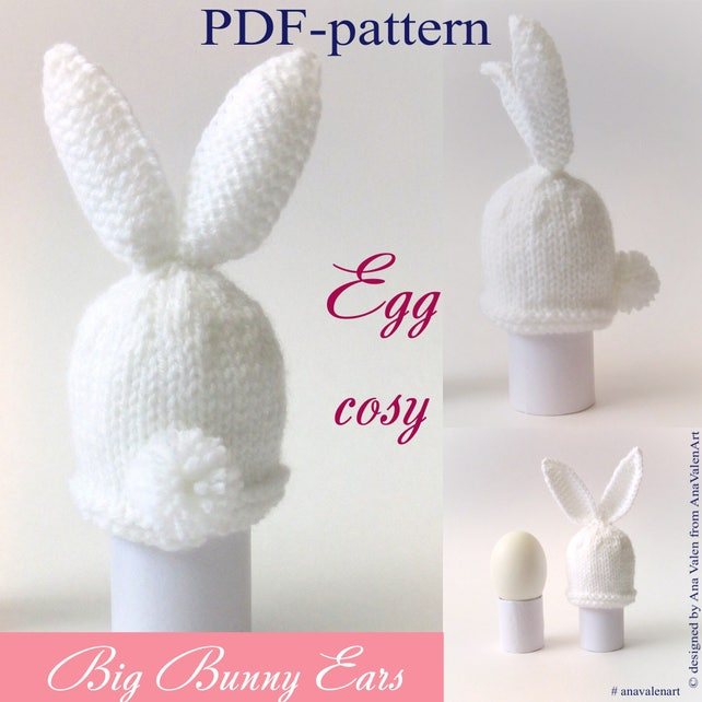 PDF-pattern Knitting Pattern Egg cosy Instant Download PDF | Etsy