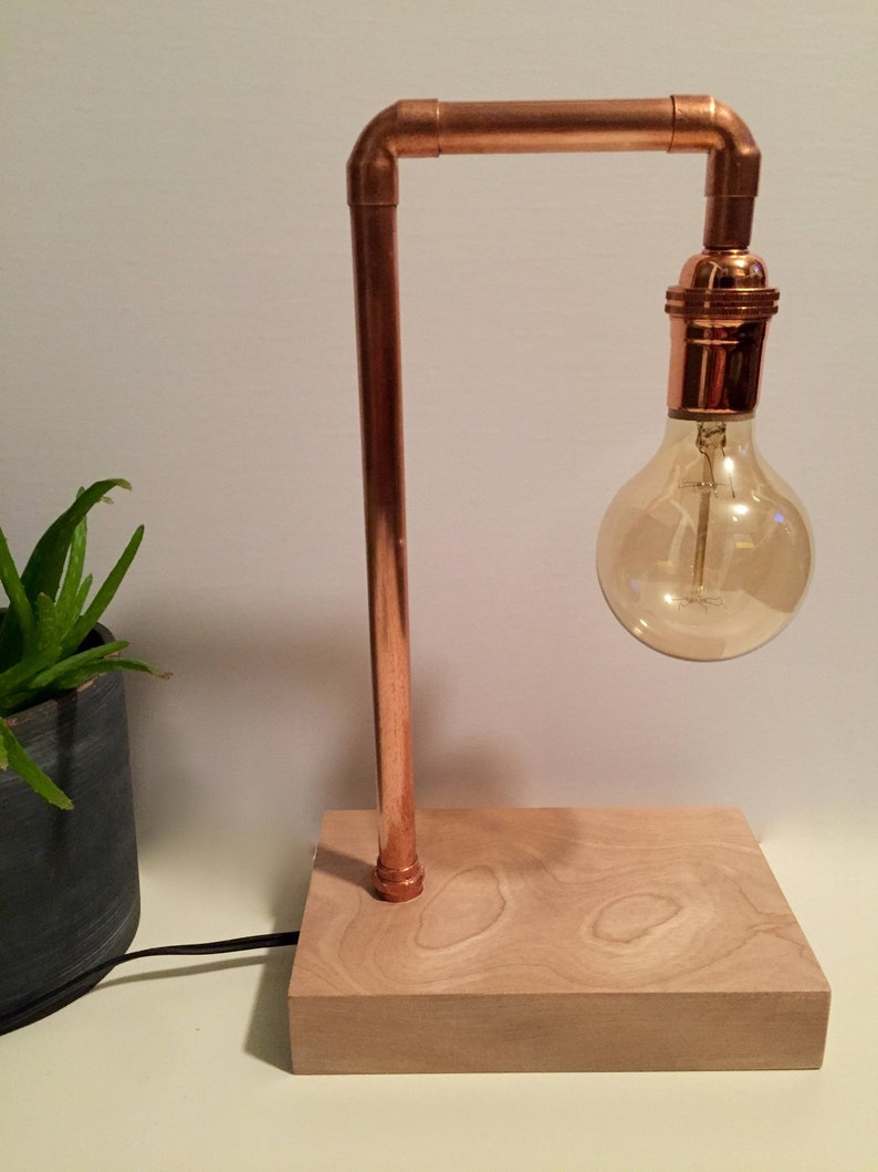 Medium copper lamp image 0