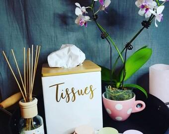 Tissue Box Decal / Sticker