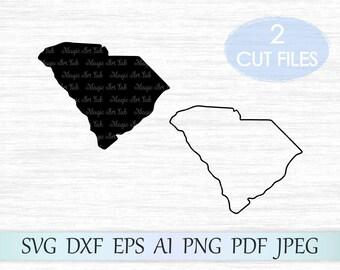 South Carolina svg, South Carolina state svg file, South Carolina vector, South Carolina clipart, Sc svg, Sc cricut, South Carolina cut file