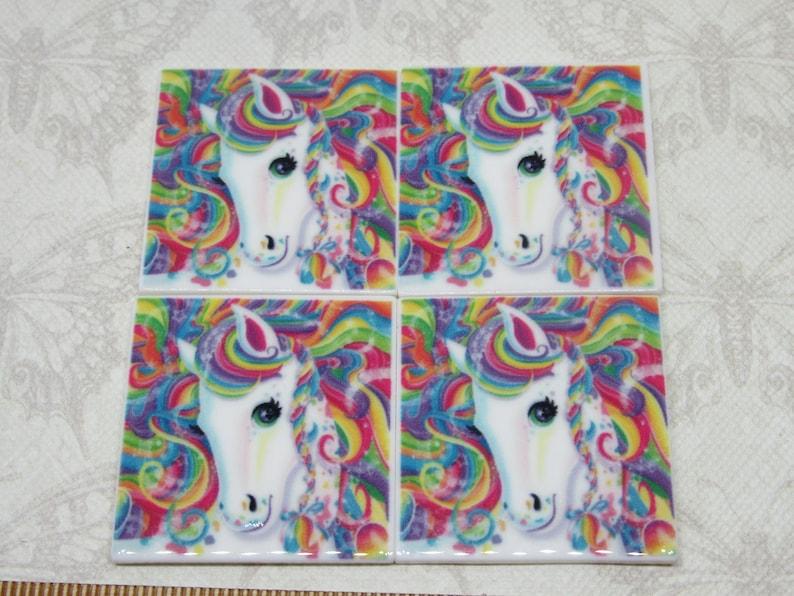 Resin Unicorn Head Flatback Embellishments ~ Hair Bow Making Scrapbooking Crafts