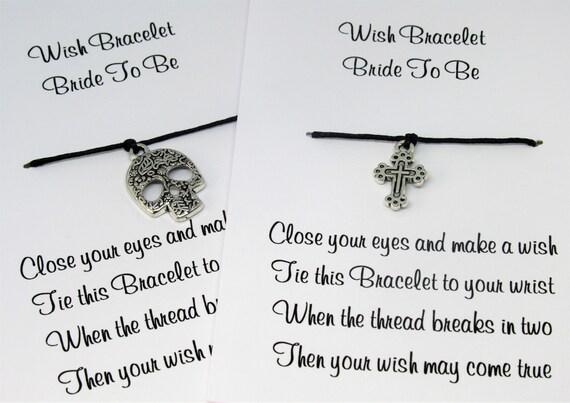 Keepsake Friend Hen Party Gifts Wish Bracelet Beautiful Hand Made Gift