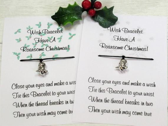 Humorous Gift Animal Rights Save The Dinosaurs Bracelet Jurassic Bracelet Christmas gift Secret Santa BRONTOSAURUS Bracelet