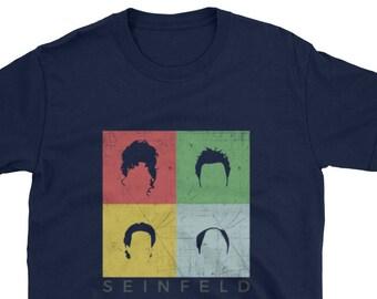 Seinfeld shirt show about nothing t-shirt Jerry George Kramer Newman tee
