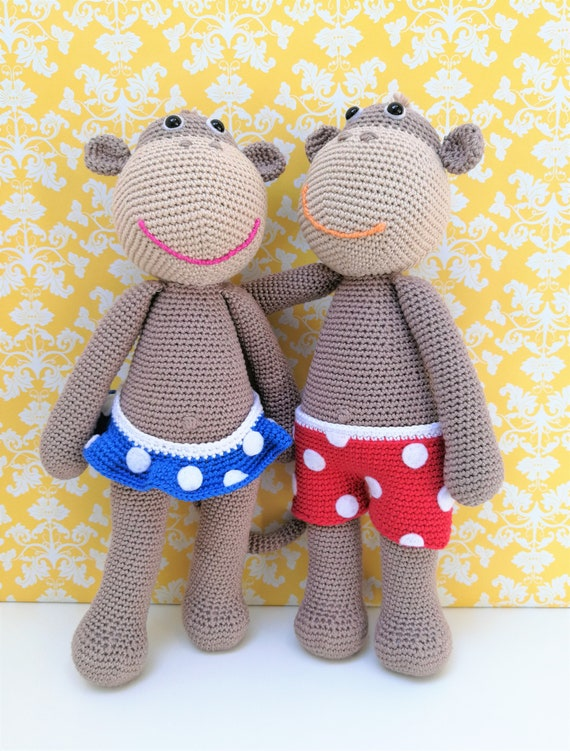 Crochet Pattern Ziggy And Zoë Amigurumi Pdf Knuffel Speelgoed Etsy