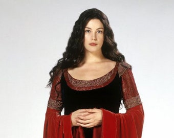 Arwen inspired gown
