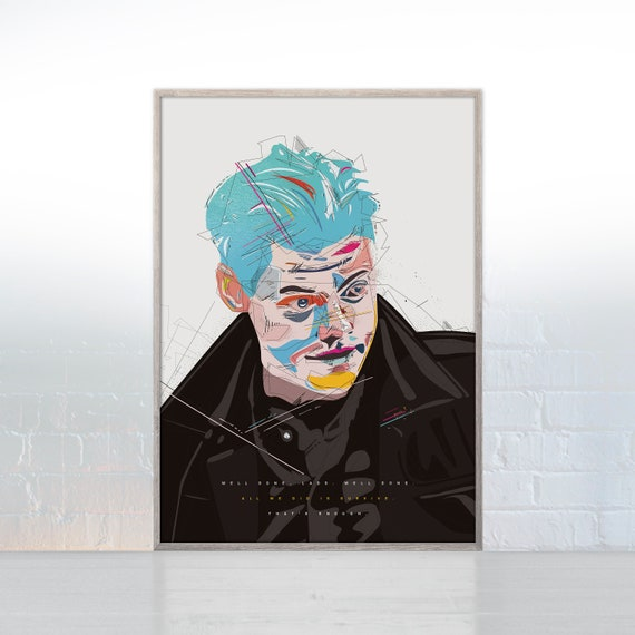 Harry Styles One Direction 1D Modern Canvas Art Print