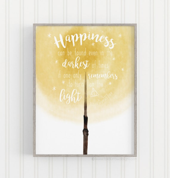 harry potter inspired quotes happiness