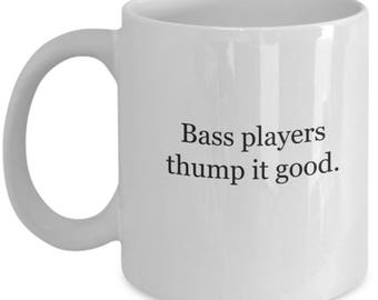 Bass guitar, bass, coffee mug, bass player, bass player gift, bass player gifts, gift for bass player, gifts for bass player