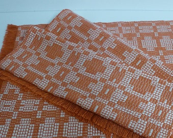 choice of 3 Doilies in a set of 4 - woven on loom-choice of colors