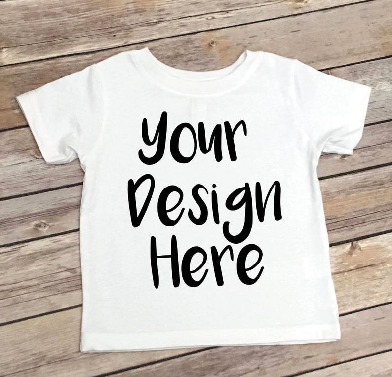 16643de7684d Custom Youth T-Shirt Design your own | Etsy