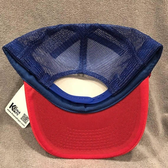 Hamm/'s Beer Vintage Blue Trucker Hat Blue