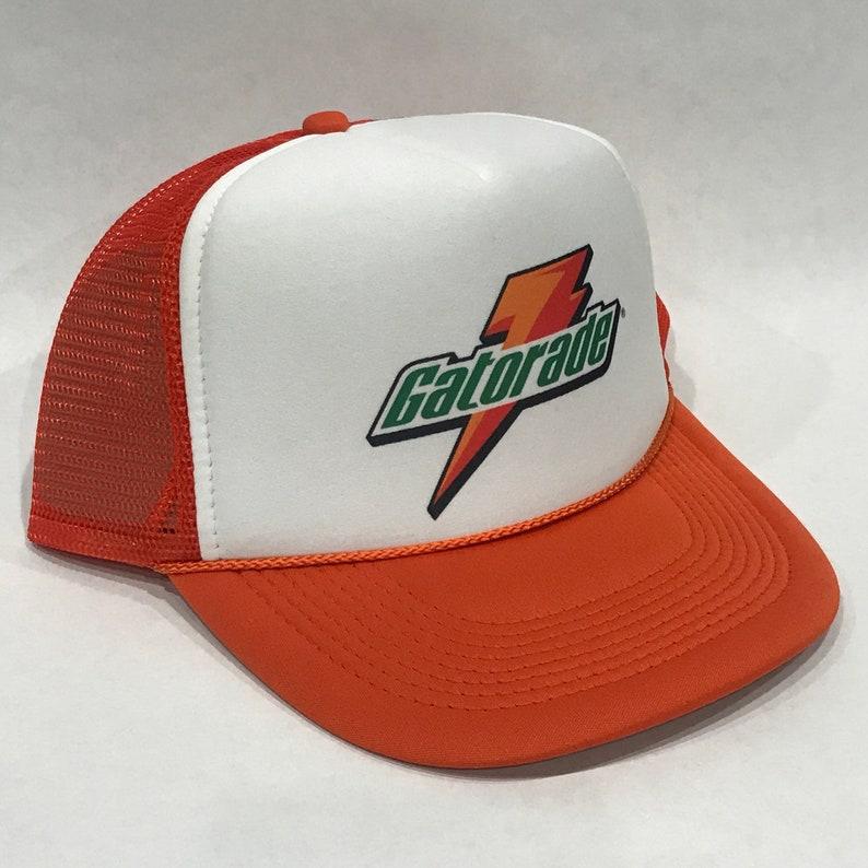 Gatorade Thirst Quencher Sports Drink Trucker Hat Snapback Cap  901c7b09fbb