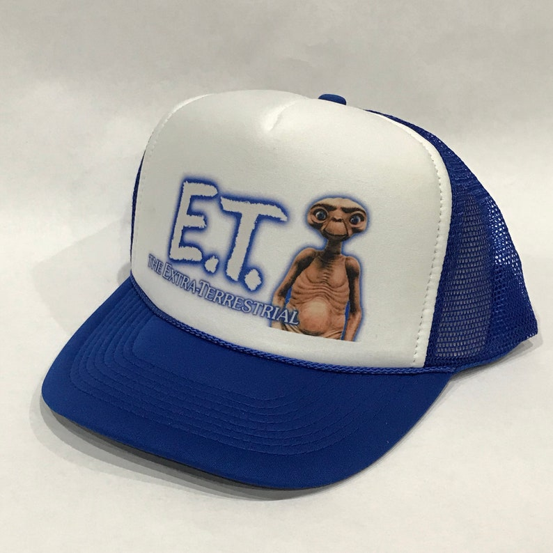 86a6c9c593477 ET Extra Terrestrial Movie Promo Trucker Hat Vintage 80 s