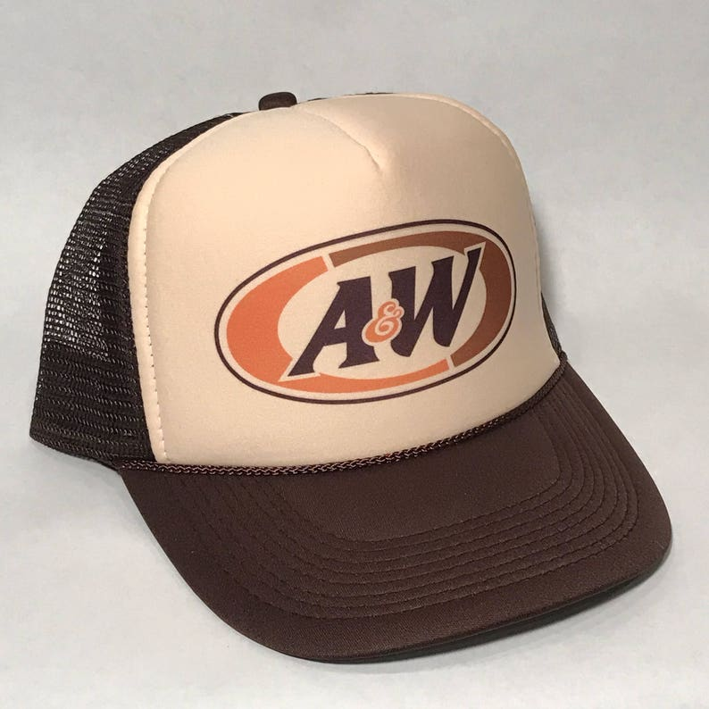 296dfe98045 A W Rootbeer Trucker Hat All American Restaurant Employee
