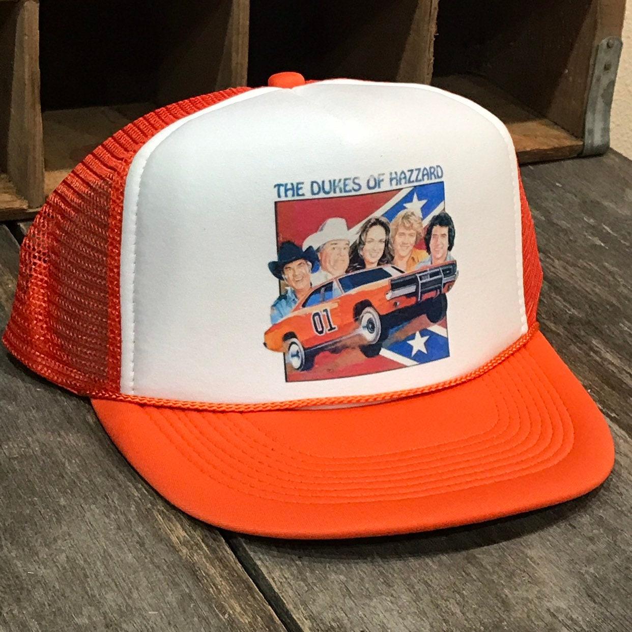 Dodge Charger Mopar Trucker Hat Vintage 70 s 80 s Mesh Cap Orange Dukes of  Hazard 0f1f7a19b20