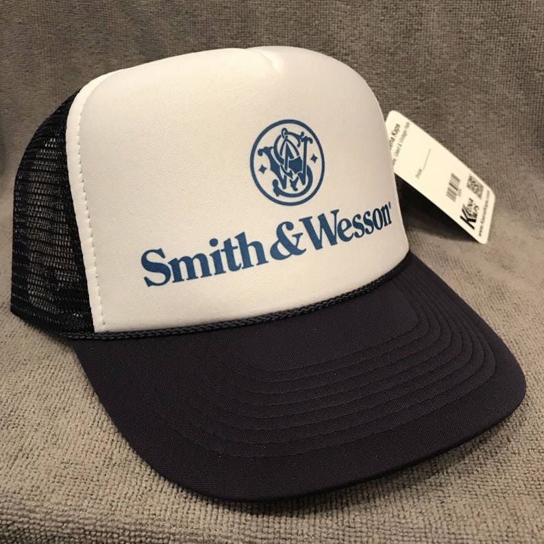036da5a6 Smith and Wesson Trucker Hat Vintage America Guns Hunting | Etsy