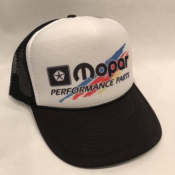 f838ca29c57 Vintage Mopar Performance Parts Trucker Hat Mesh Snapback