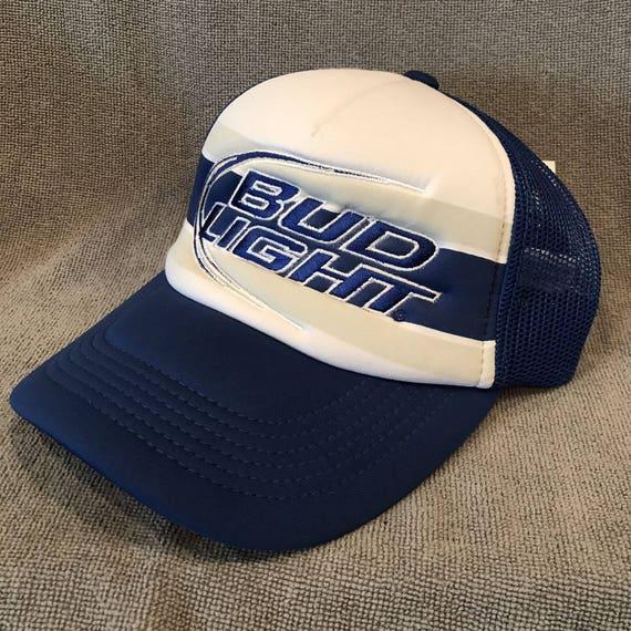 Bud Light Beer Retro Trucker Hat Adjustable Top Of The World  e7c7af433581