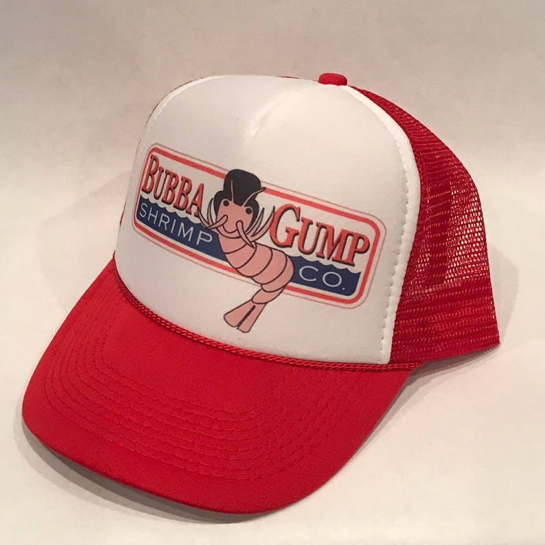 e3921018d2ba9 Bubba Gump Shrimp Co Trucker Hat Forrest Gump 1994 Vintage