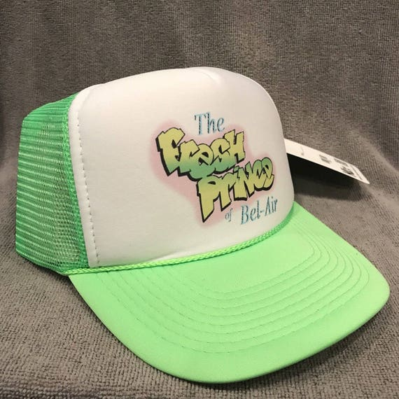 The Fresh Prince Of Bel Air Trucker Hat Vintage 90S TV Promo  a41c7ef18da